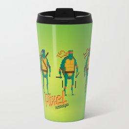 Ninja Turtles - Pixel Nostalgia Travel Mug