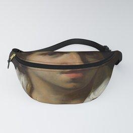 """Théodore Géricault """"A Portrait Of A Young Man"""" Fanny Pack"""