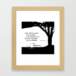 Great is Your Faithfulness Framed Art Print