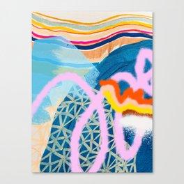 Diamond Street Canvas Print
