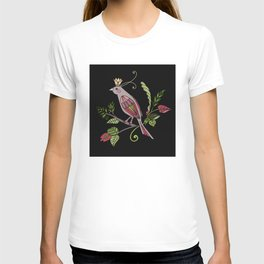 Royal crown bird T-shirt