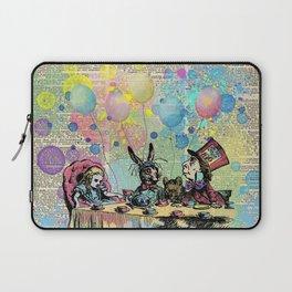 Tea Party Celebration - Alice In Wonderland Laptop Sleeve