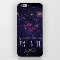 infinite iPhone & iPod Skins featuring Infinite by Enyalie