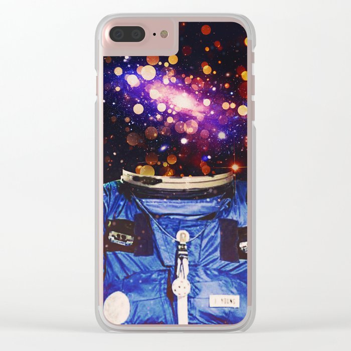 Meteoric Charm Clear iPhone Case