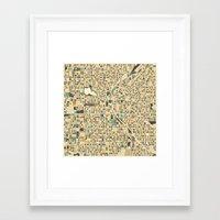 denver Framed Art Prints featuring DENVER by Jazzberry Blue