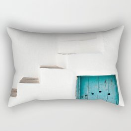 Minimalist Greek Architecture, Sifnos island Rectangular Pillow