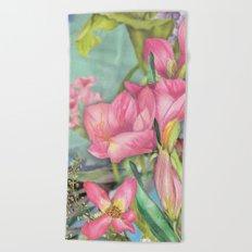 Macro Flower #21 Beach Towel