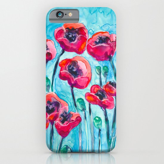 Poppy Sky iPhone & iPod Case