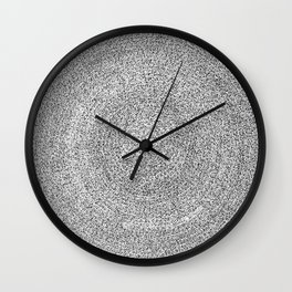 Enlightenment asemic calligraphy for home & office decoration Wall Clock