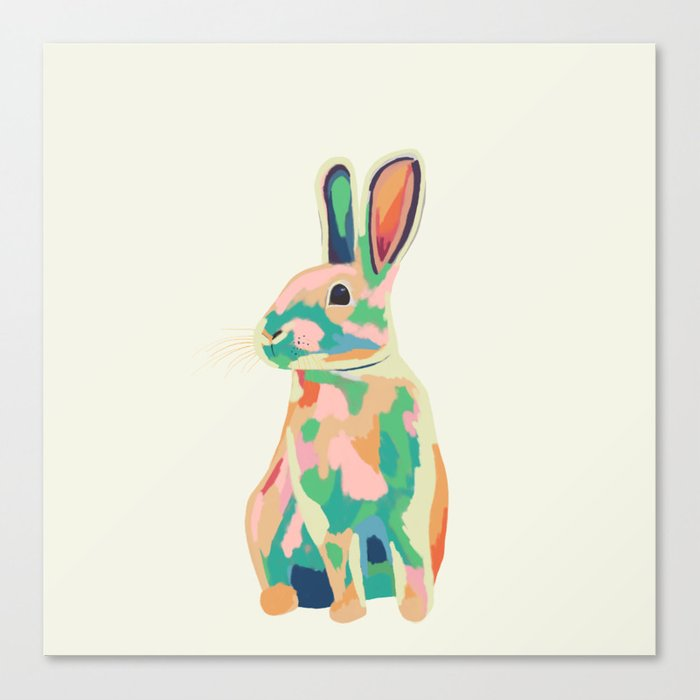 Bunny Leinwanddruck