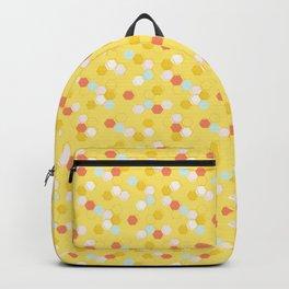 Honeycomb - Sunshine Yellow Backpack