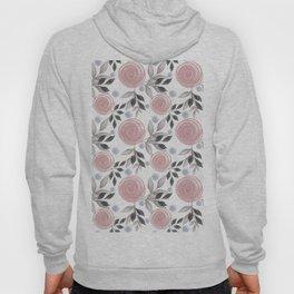 Delicate floral pattern. Hoody