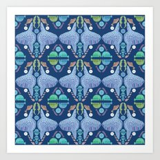 Holy Mola Fish Art Print