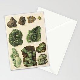 Natural Malachite Stationery Cards