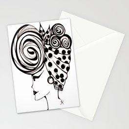 Eyeliner Betty Stationery Cards