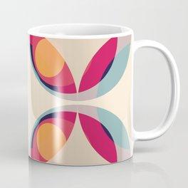 Retro Colored Circles 04 Coffee Mug