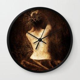 Juliette. Portrait. Wall Clock
