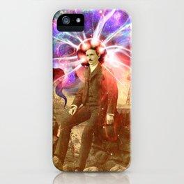 Electric Scientist iPhone Case