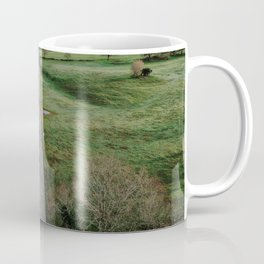 Road from above Coffee Mug