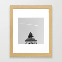 Look at the Sky! Framed Art Print