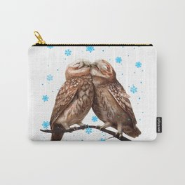 Winter Owls Carry-All Pouch