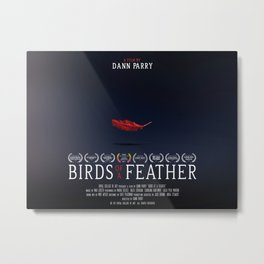 Birds of a Feather - Film Poster Metal Print
