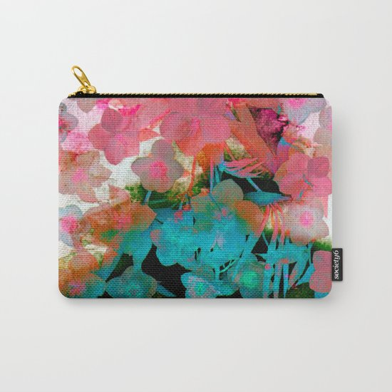 abstract bouquet on watercolors Carry-All Pouch
