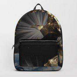 """Possibilities"" Bald Eagle Inspirational Design Backpack"