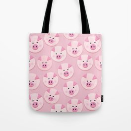piggy pattern Tote Bag