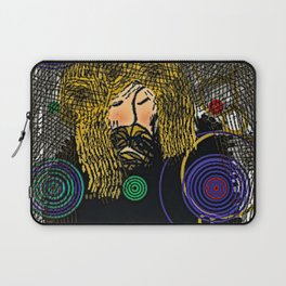 Don't Worry be Hippie Laptop Sleeve