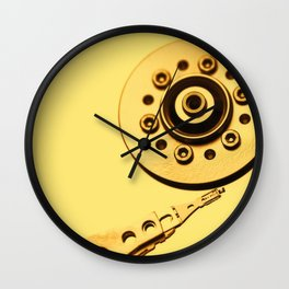 Computer Hard Drive 4 Wall Clock