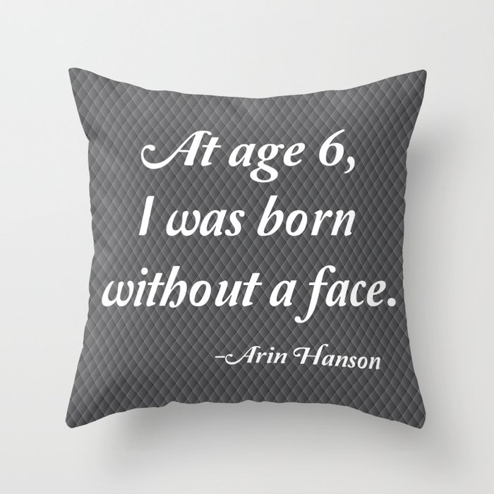 Age 6 Throw Pillow