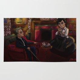 Holmes and Watson Rug
