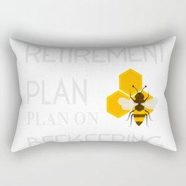 My Retirement Plan is Bee Keeping-01 Rectangular Pillow