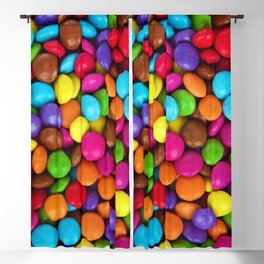Candy Coated Chocolate Blackout Curtain