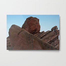 Red Rocks Uplift Metal Print