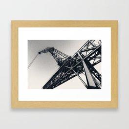 Crane II Framed Art Print