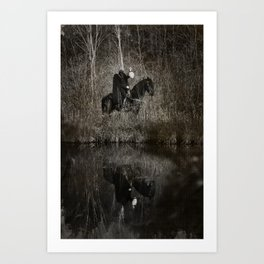 The Headless Horsemen Art Print
