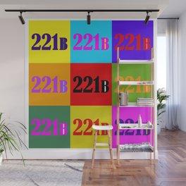 221B Color Block Wall Mural