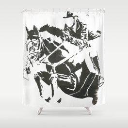 Jumper 1 Shower Curtain