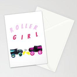 Roller Girl, Roller Derby Stationery Cards