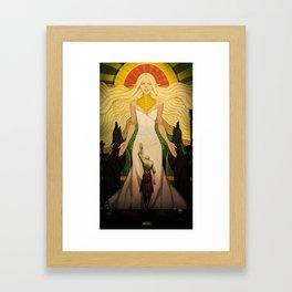 A goddess of his own Framed Art Print