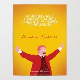 Theodore Roosevelt, Number 5 Poster