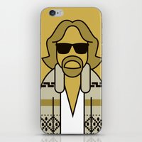 the dude iPhone & iPod Skins featuring Dude by Ale Giorgini