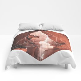 A Great Canyon - Geometric Photography Comforters