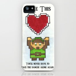 Take My Heart iPhone Case