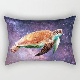 Space Turtle Rectangular Pillow