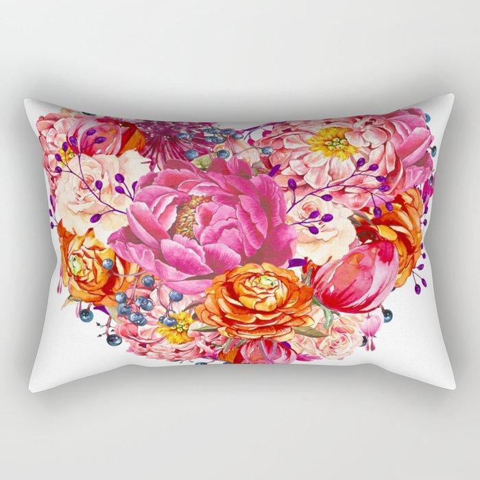 Love beat Rectangular Pillow