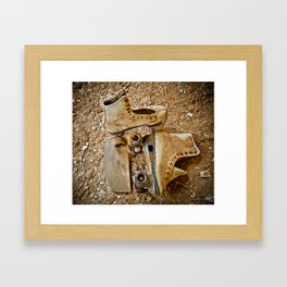 """I GOT A NEW PAIR OF ROLLER SKATES"" Framed Art Print"