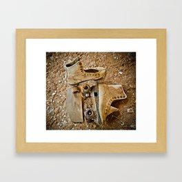 """""""I GOT A NEW PAIR OF ROLLER SKATES"""" Framed Art Print"""